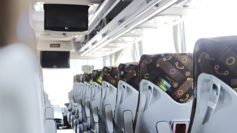 saturental - foto big bus pariwisata patriot interior dalam 48s 52s 59 seat a