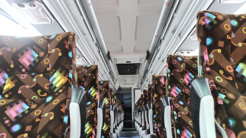 saturental - foto big bus pariwisata patriot interior dalam 48s 52s 59 seat c
