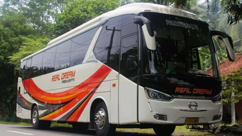 saturental - foto big bus pariwisata real dream 59 seats a