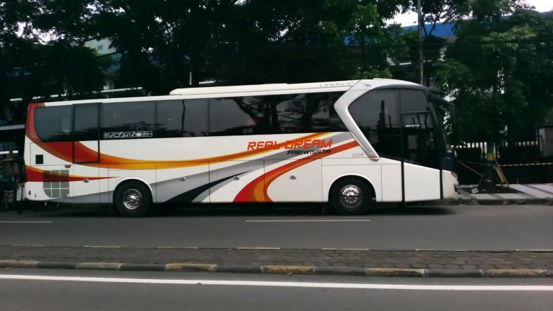 saturental - foto big bus pariwisata real dream 59 seats b