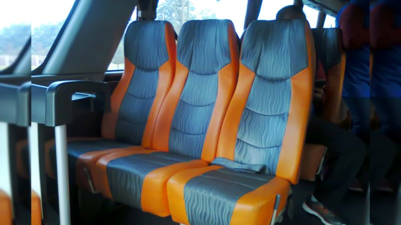 saturental - foto big bus pariwisata real dream shd hdd terbaru interior dalam 59 seats a