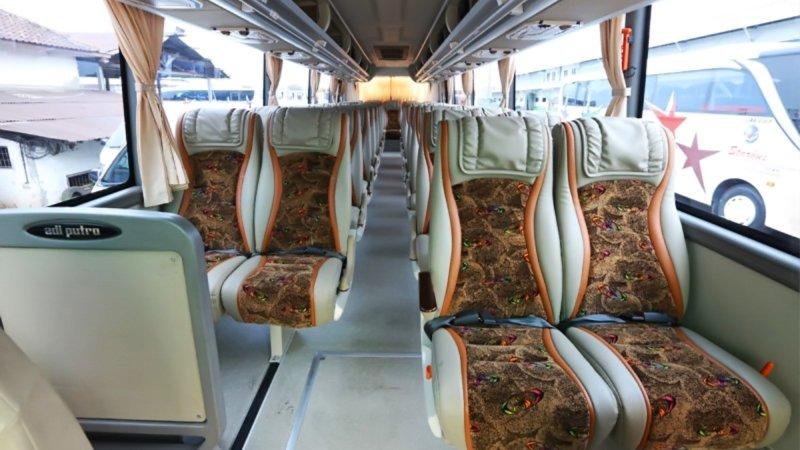 saturental - foto big bus pariwisata starbus hdd shd terbaru interior dalam 43s 54 seats a