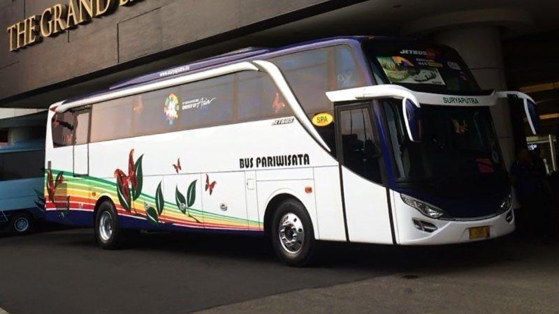 saturental - foto big bus pariwisata surya putra shd hdd terbaru 45s 47s 53s 59 seats b