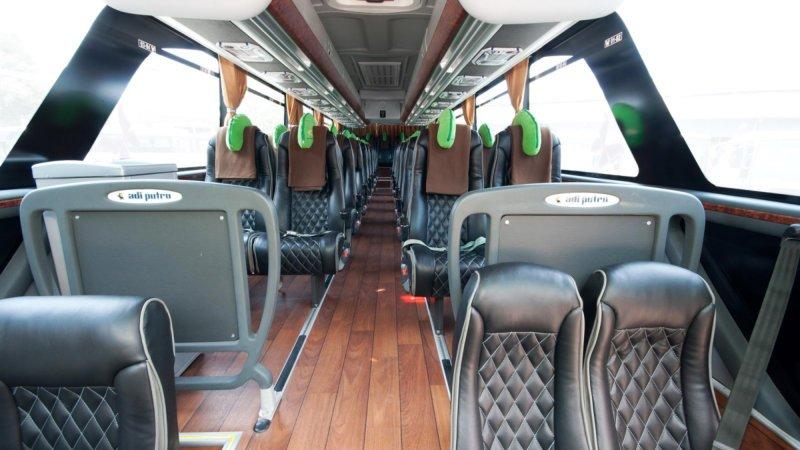 saturental - foto big bus pariwisata surya putra shd hdd terbaru interior dalam 45s 47s 53s 59 seats a