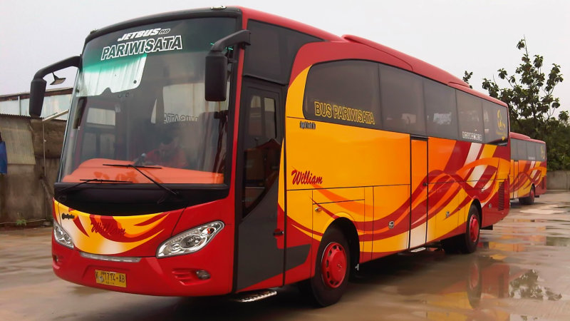 saturental - foto big bus pariwisata william 48s 59 seats c