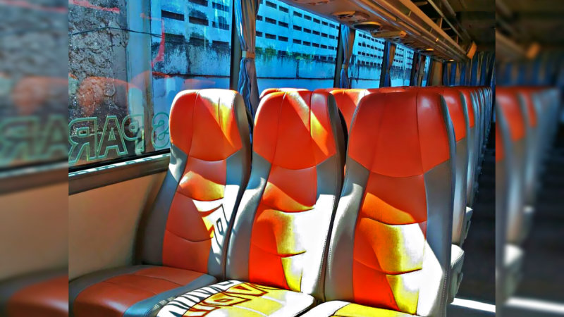 saturental - foto big bus pariwisata william interior dalam 48s 59 seats c