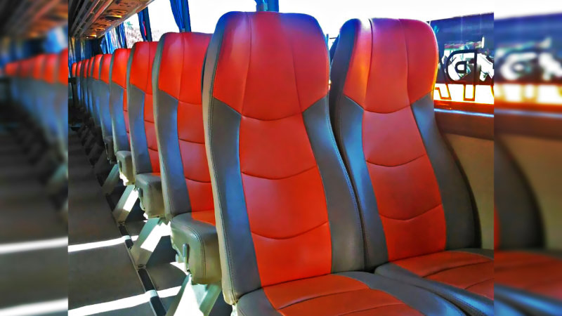 saturental - foto big bus pariwisata william interior dalam 48s 59 seats d