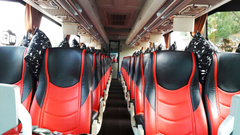 saturental - foto big bus pariwisata william shd hdd terbaru interior dalam 45s 59 seats a