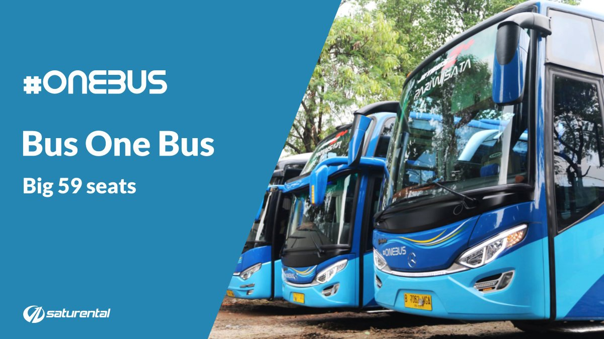 Info Lengkap Foto dan Harga Sewa Bus Pariwisata One Bus - Saturental