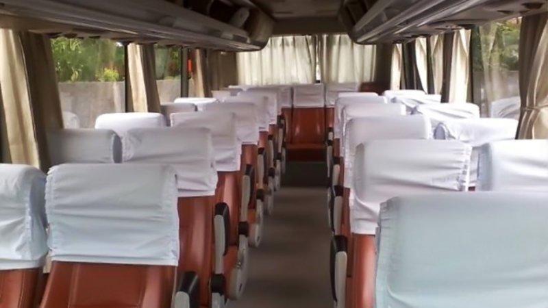 saturental - foto medium bus pariwisata mega citra wisata interior dalam 25s 31 seats a