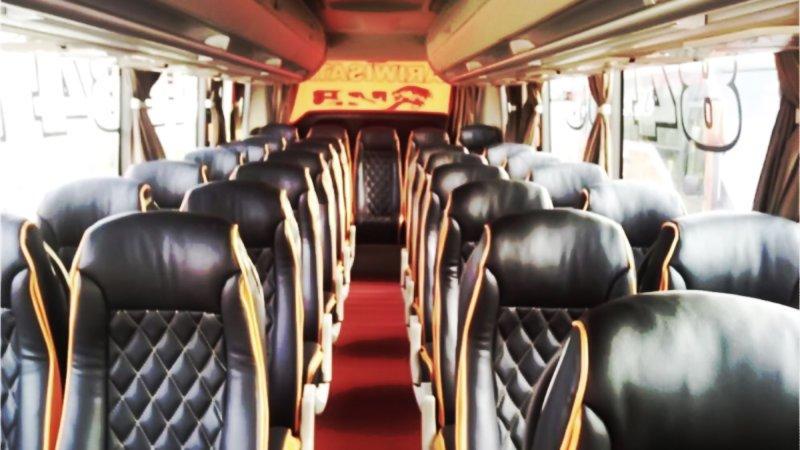 saturental - foto medium bus pariwisata mitra rahayu interior dalam 29 seats a