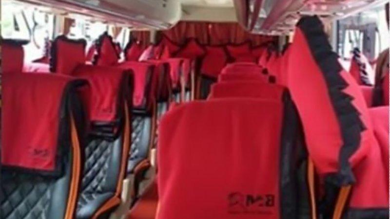 saturental - foto medium bus pariwisata mitra rahayu interior dalam 29 seats b
