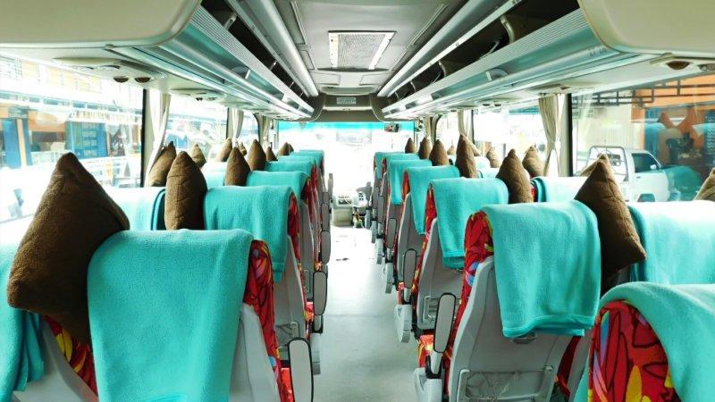 saturental - foto medium bus pariwisata ness trans interior dalam 31s 35 seats a