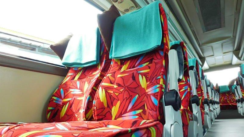 saturental - foto medium bus pariwisata ness trans interior dalam 31s 35 seats c