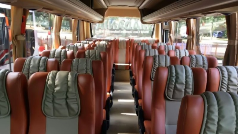 saturental - foto medium bus pariwisata real dream interior dalam 29s 31 seats a
