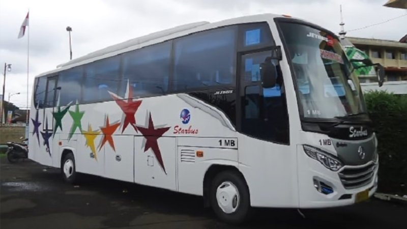 saturental - foto medium bus pariwisata starbus 27s 31 seats a