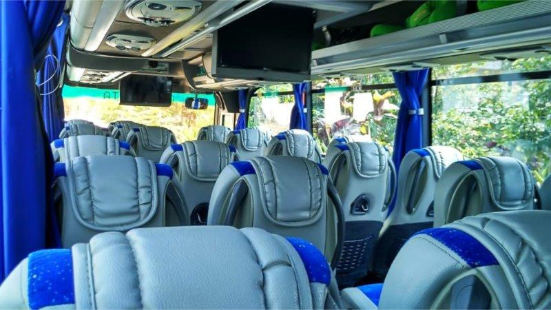 saturental - foto medium bus pariwisata surya putra interior dalam 25s 31s 35 seats a