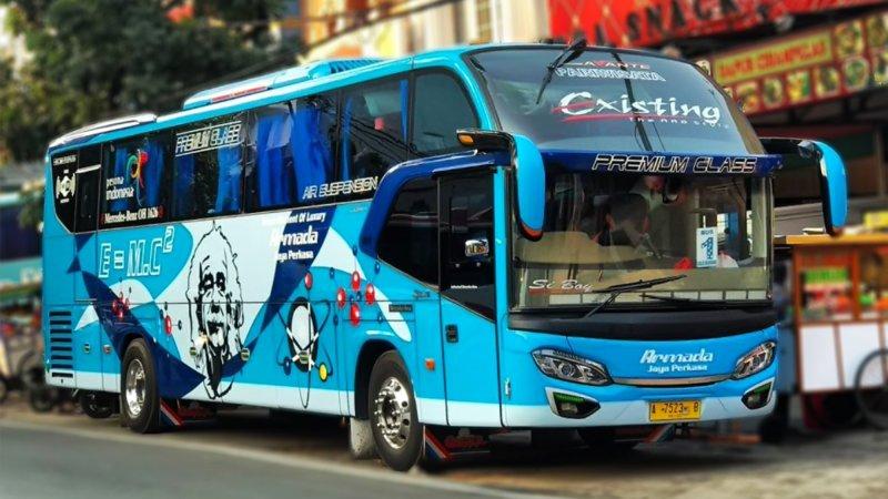 saturental - foto big bus pariwisata armada jaya perkasa shd hdd terbaru 48s 59 seats b