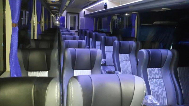 saturental - foto big bus pariwisata armada jaya perkasa shd hdd terbaru interior dalam 48s 59 seats a