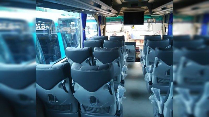 saturental - foto big bus pariwisata armada jaya perkasa shd hdd terbaru interior dalam 48s 59 seats b