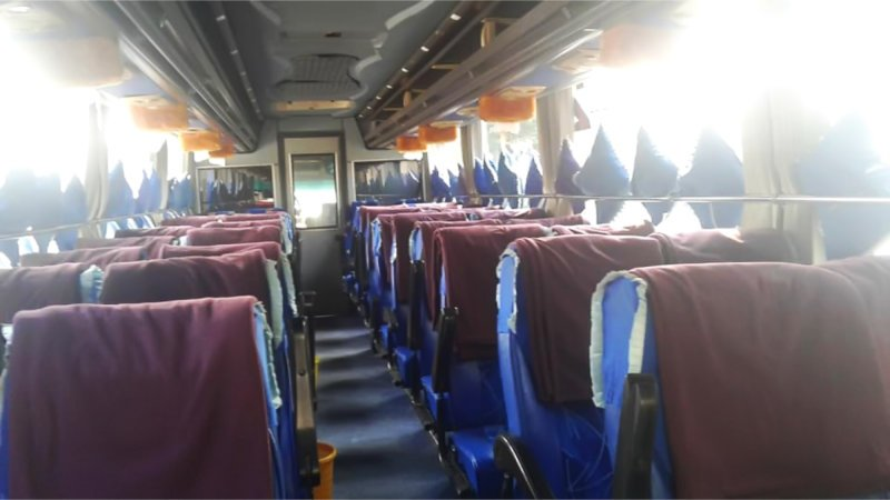 saturental - foto big bus pariwisata armada jaya perkasa shd hdd terbaru interior dalam 48s 59 seats c