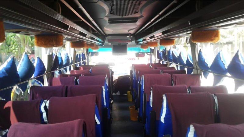 saturental - foto big bus pariwisata armada jaya perkasa shd hdd terbaru interior dalam 48s 59 seats d