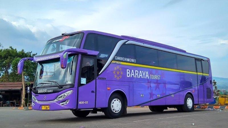Info Lengkap Foto Dan Harga Sewa Bus Pariwisata Baraya