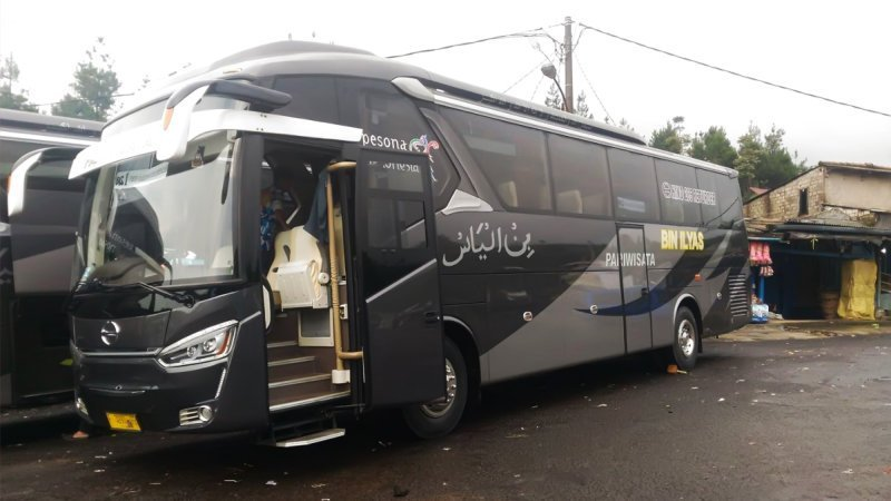 saturental - foto big bus pariwisata bin ilyas 59 seats a