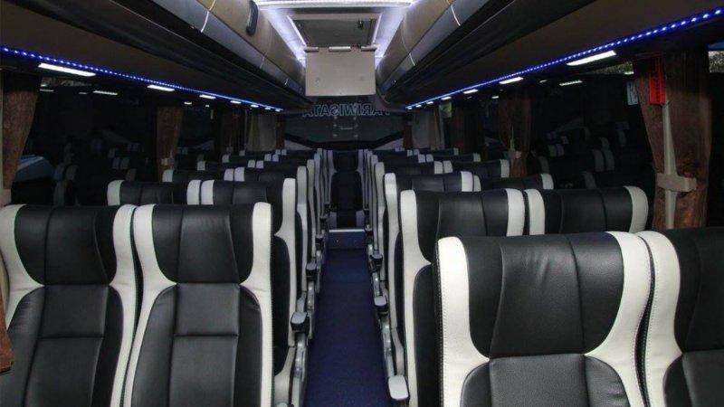 saturental - foto big bus pariwisata bin ilyas interior dalam 59 seats a