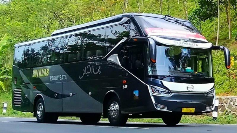saturental - foto big bus pariwisata bin ilyas shd hdd terbaru 59 seats b