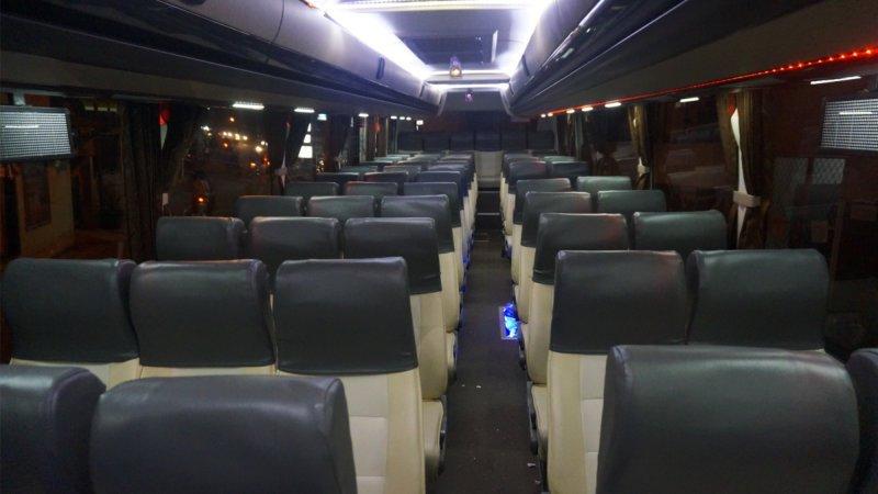 saturental - foto big bus pariwisata bin ilyas shd hdd terbaru interior dalam 59 seats a