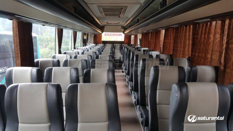 saturental - foto big bus pariwisata hiba utama interior dalam 59 seats a