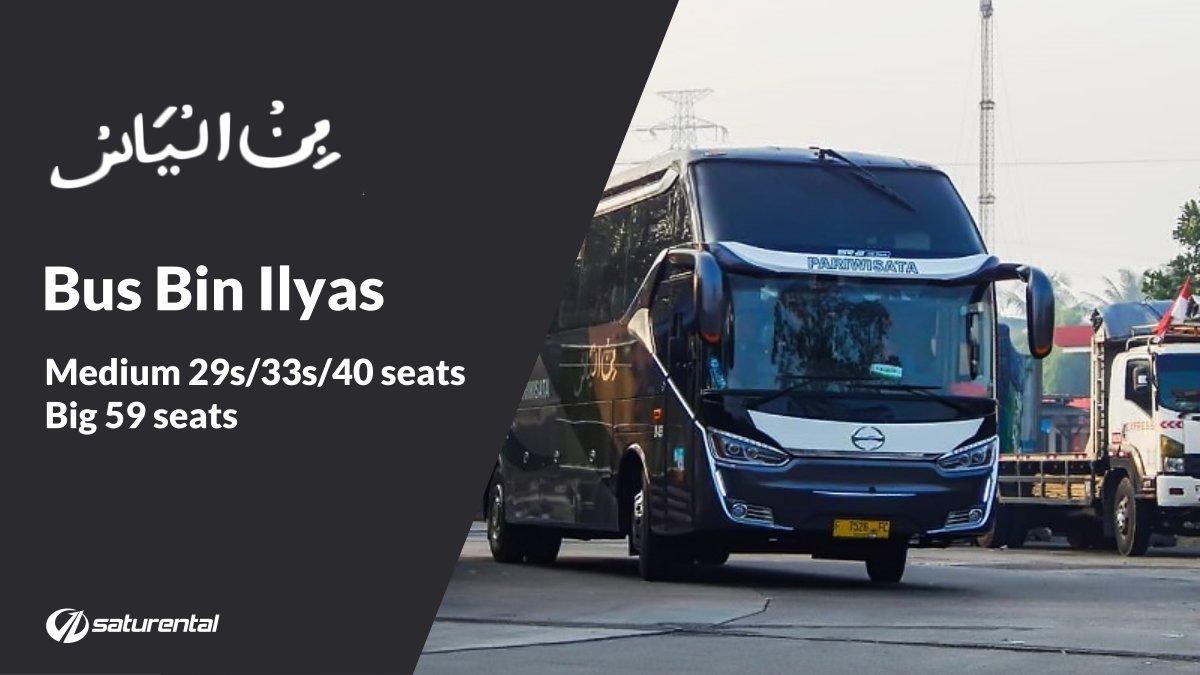 saturental - foto bus pariwisata bin ilyas