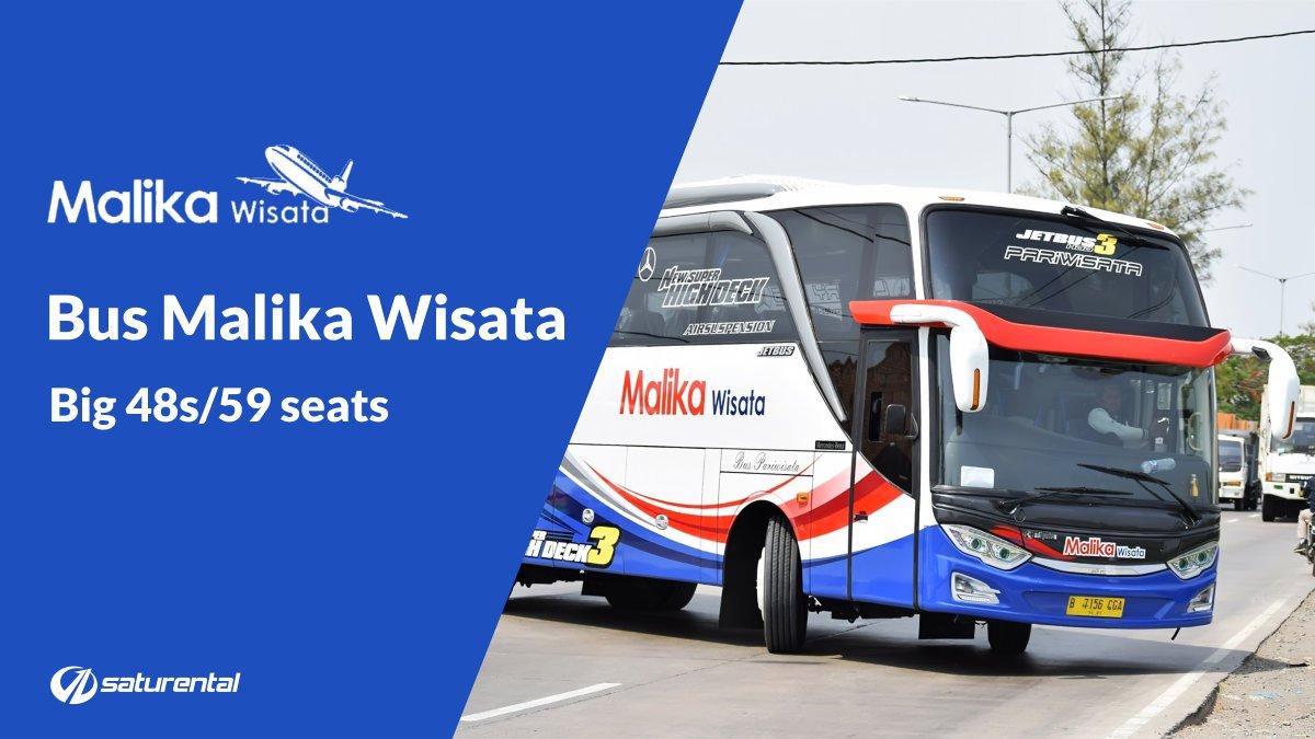 Info Lengkap Foto dan Harga Sewa Bus Pariwisata Malika Wisata