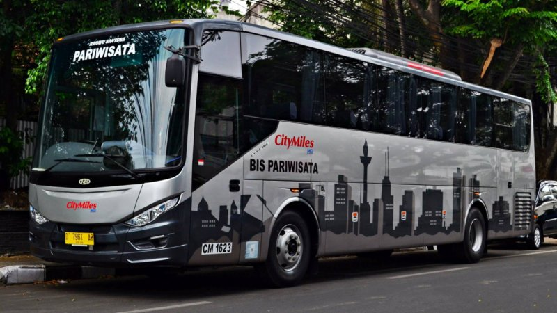 saturental - foto big bus pariwisata citymiles 47s 57 seats a