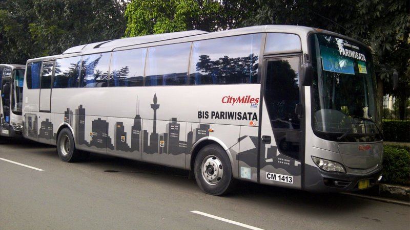 saturental - foto big bus pariwisata citymiles 47s 57 seats c