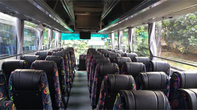 saturental - foto big bus pariwisata citymiles interior dalam 47s 57 seats c