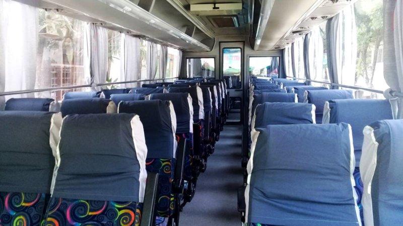 saturental - foto big bus pariwisata citymiles interior dalam 47s 57 seats d