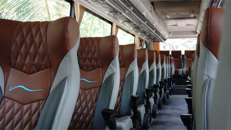 saturental - foto big bus pariwisata ness trans shd hdd terbaru interior dalam 47s 52 seats c
