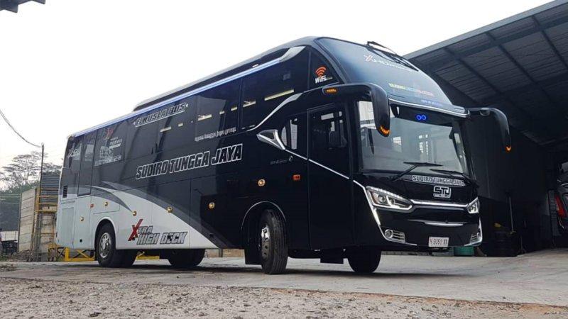 saturental - foto fresh bus laksana terbaru a