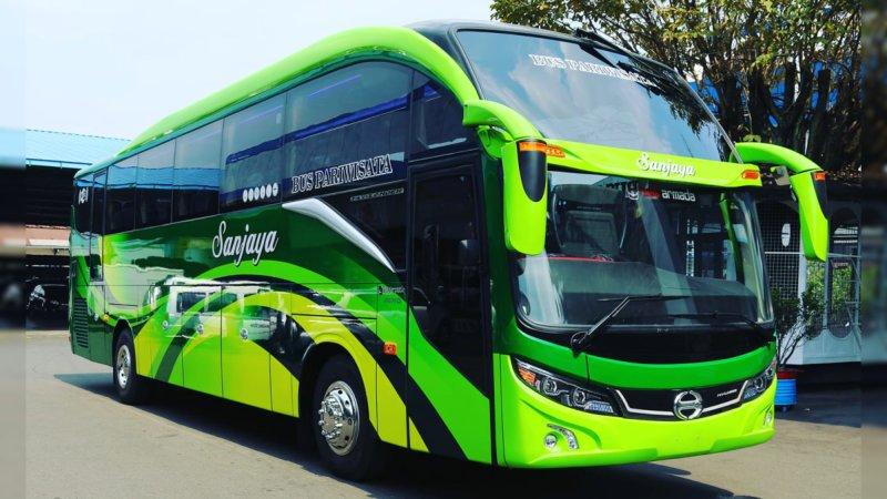 saturental - foto fresh bus new armada terbaru a
