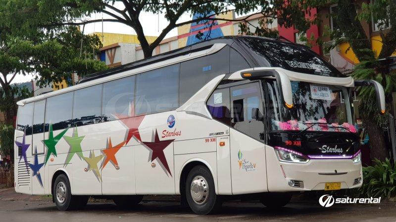 foto big bus pariwisata starbus shd hdd 43s 54 seats h