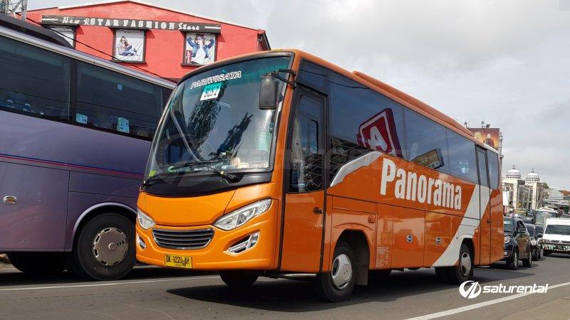 foto bus pariwisata panorama medium 26 31 seats f