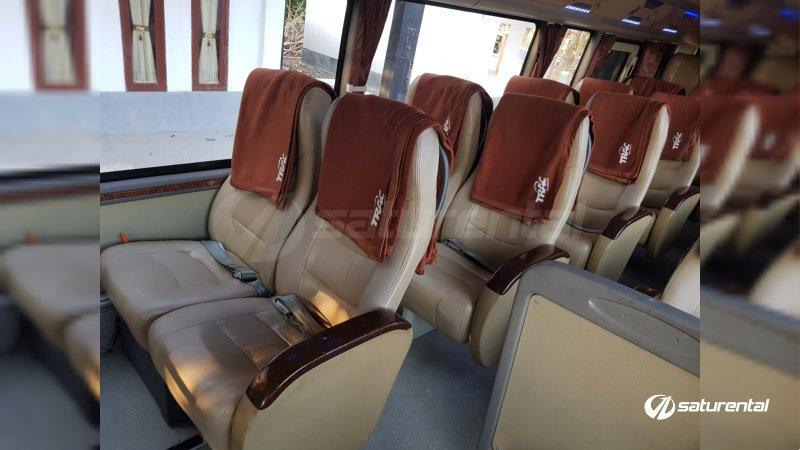 foto bus pariwisata trac toyota coaster 18 23 seats b
