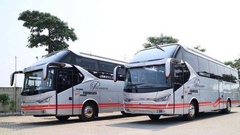foto bus pariwisata white horse shd hdd 47 59 seats e