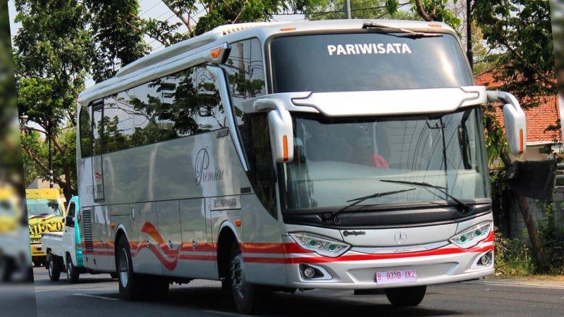 foto bus pariwisata white horse shd hdd 47 59 seats j