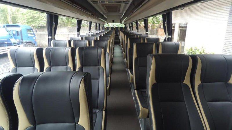 saturental - foto big bus pariwisata masterpiece shd hdd terbaru interior dalam 45t 59 seats b