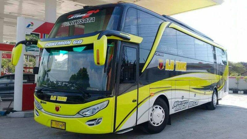 Info Lengkap Foto Dan Harga Sewa Bus Pariwisata Rjb Trans