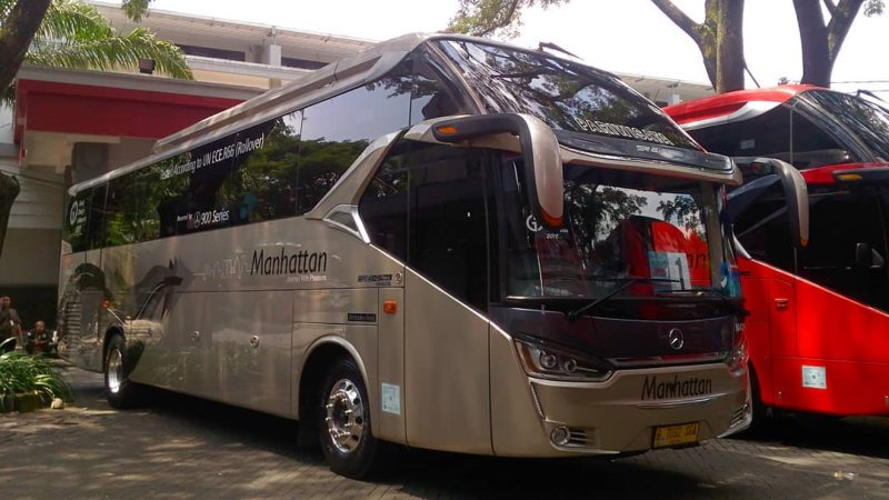 saturental - foto big bus pariwisata manhattan shd hdd terbaru 47 58 seats new c