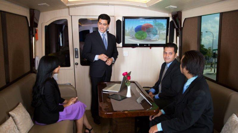 saturental - sewa bus pariwisata luxury bigbird premium interior 12 seats d
